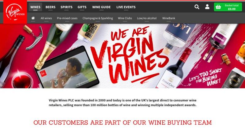 Virgin Wine Club Review
